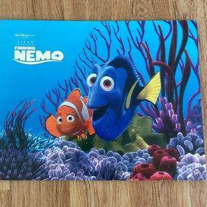 Disney Finding Nemo set of four lithographs